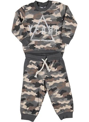 Luggi Baby Pijama Takım Haki
